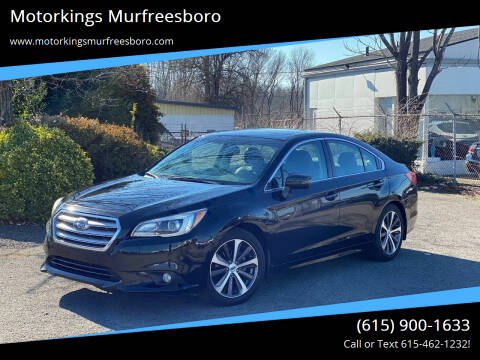 2015 Subaru Legacy for sale at Motorkings Murfreesboro in Murfreesboro TN