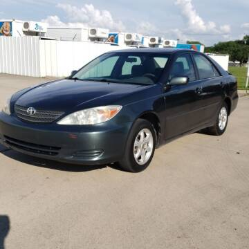 2003 Toyota Camry for sale at ZNM Motors in Irving TX
