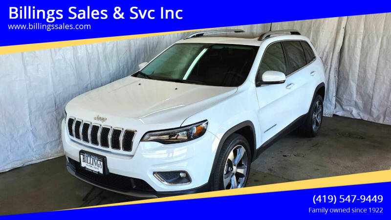 2019 Jeep Cherokee for sale at Billings Sales & Svc Inc in Clyde OH