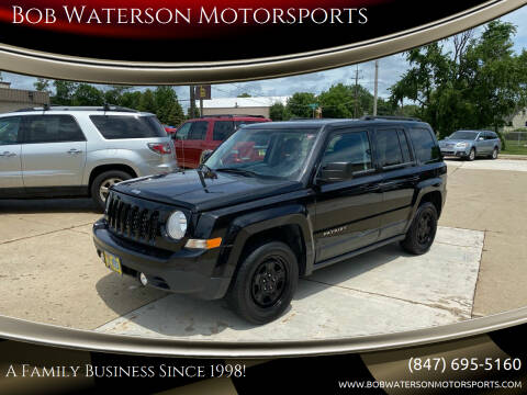 2013 Jeep Patriot for sale at Bob Waterson Motorsports in South Elgin IL