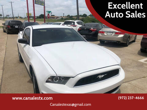 2014 Ford Mustang for sale at Excellent Auto Sales in Grand Prairie TX