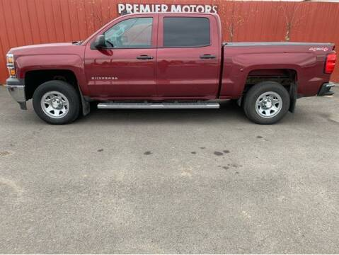 2015 Chevrolet Silverado 1500 for sale at PREMIERMOTORS  INC. in Milton Freewater OR