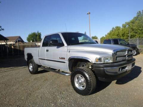 2001 Dodge Ram Pickup 2500 for sale at gary battles in Roseville CA
