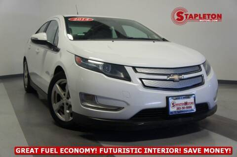 2014 Chevrolet Volt for sale at STAPLETON MOTORS in Commerce City CO