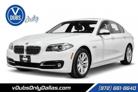 2015 BMW 5 Series for sale at VDUBS ONLY in Dallas TX