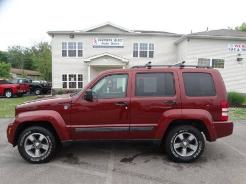 2008 Jeep Liberty for sale at SOUTHERN SELECT AUTO SALES in Medina OH
