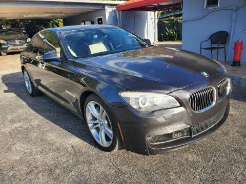 2011 BMW 7 Series for sale at America Auto Wholesale Inc in Miami FL