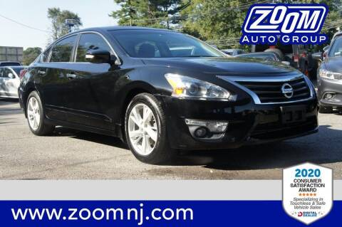 2015 Nissan Altima for sale at Zoom Auto Group in Parsippany NJ