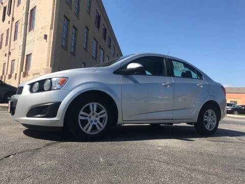 2012 Chevrolet Sonic for sale at Budget Auto Sales Inc. in Sheboygan WI