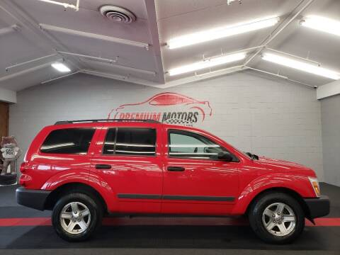2005 Dodge Durango for sale at Premium Motors in Villa Park IL