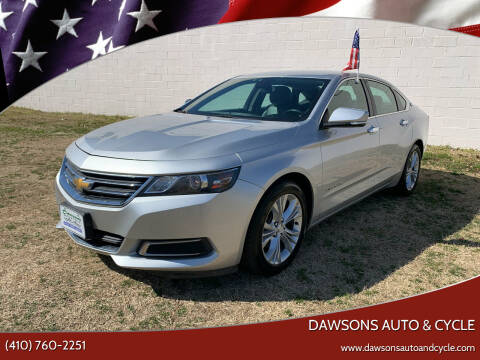 2014 Chevrolet Impala for sale at Dawsons Auto & Cycle in Glen Burnie MD