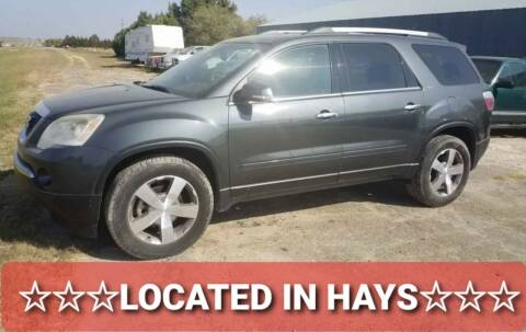 2011 GMC Acadia for sale at Bretz Inc in Dighton KS