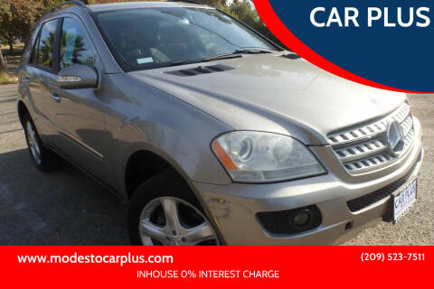 2006 Mercedes-Benz M-Class for sale at CAR PLUS in Modesto CA