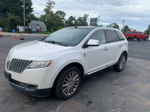2011 Lincoln MKX for sale at Irving Auto Sales in Whitman MA