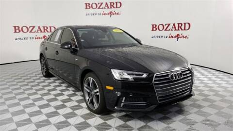 2018 Audi A4 for sale at BOZARD FORD in Saint Augustine FL