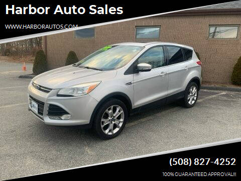 2013 Ford Escape for sale at Harbor Auto Sales in Hyannis MA