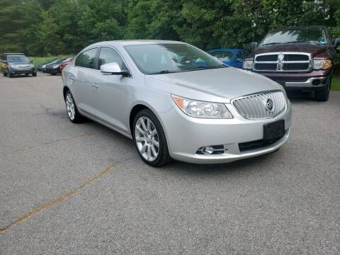 2010 Buick LaCrosse for sale at Pelham Auto Group in Pelham NH