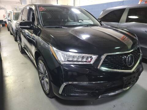 2018 Acura MDX for sale at AW Auto & Truck Wholesalers  Inc. in Hasbrouck Heights NJ