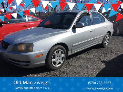 2005 Hyundai Elantra for sale at Old Man Zweig's in Plymouth Township PA