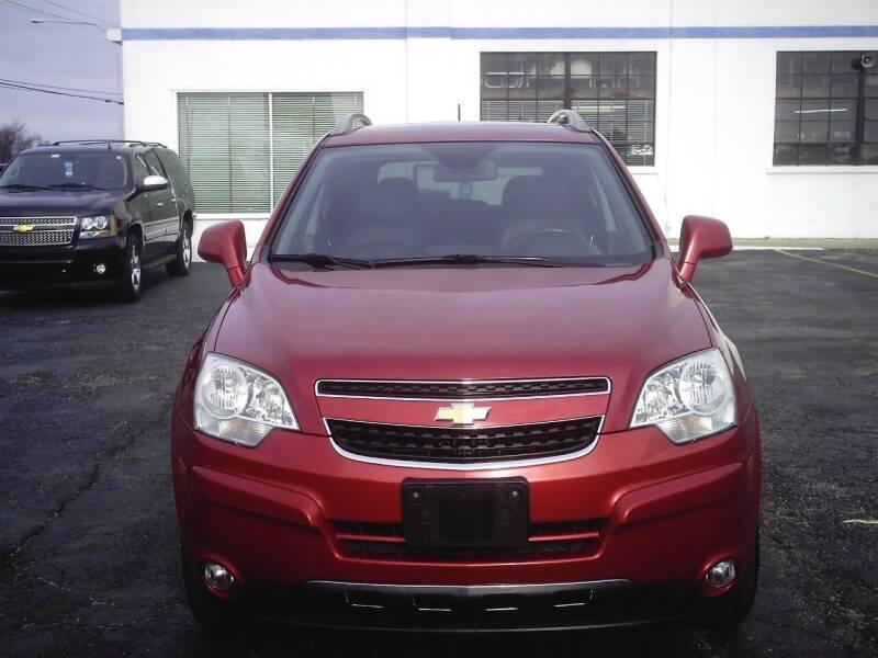 2012 Chevrolet Captiva Sport for sale at STAPLEFORD'S SALES & SERVICE in Saint Georges DE