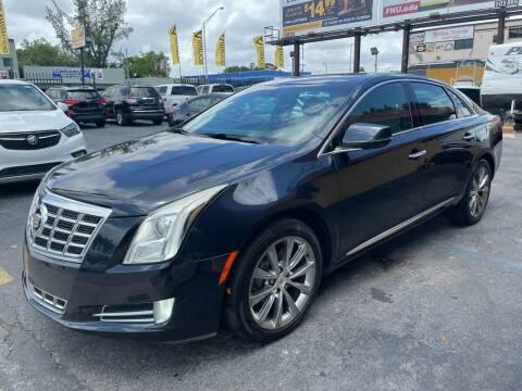 2013 Cadillac XTS for sale at AUTO ALLIANCE LLC in Miami FL