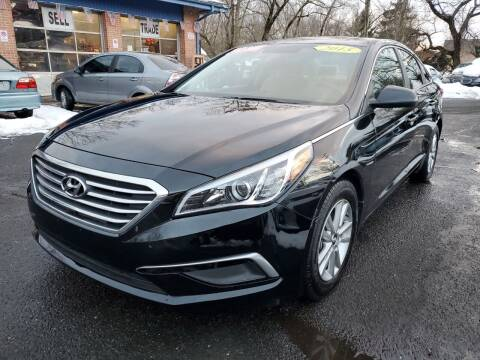 2015 Hyundai Sonata for sale at CENTRAL GROUP in Raritan NJ