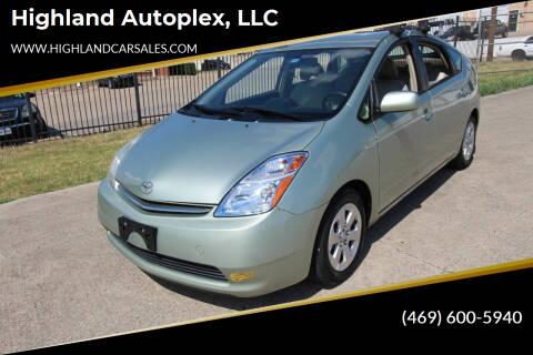 2006 Toyota Prius for sale at Highland Autoplex, LLC in Dallas TX