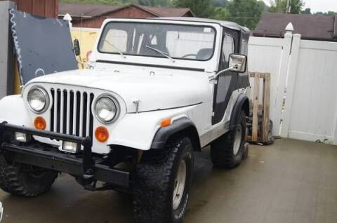 1977 Jeep DJ5 for sale at Haggle Me Classics in Hobart IN