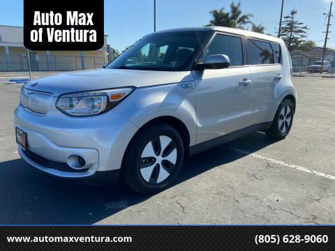 2016 Kia Soul EV for sale at Auto Max of Ventura in Ventura CA