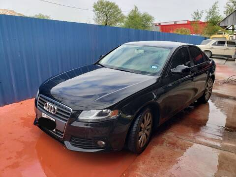 2010 Audi A4 for sale at CARMONA'S VW & IMPORTS in Mission TX