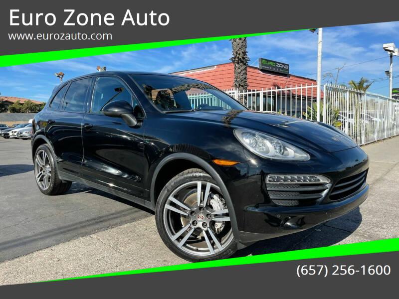 2012 Porsche Cayenne for sale at Euro Zone Auto in Stanton CA