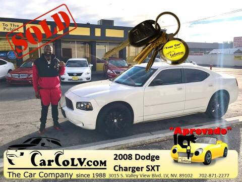 2008 Dodge Charger for sale at The Car Company in Las Vegas NV