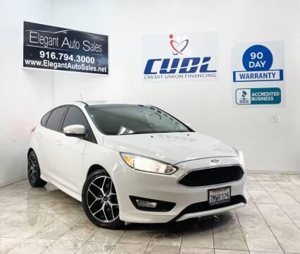 2015 Ford Focus for sale at Elegant Auto Sales in Rancho Cordova CA