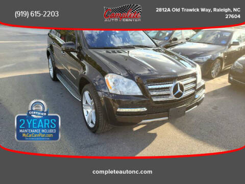 2011 Mercedes-Benz GL-Class for sale at Complete Auto Center , Inc in Raleigh NC