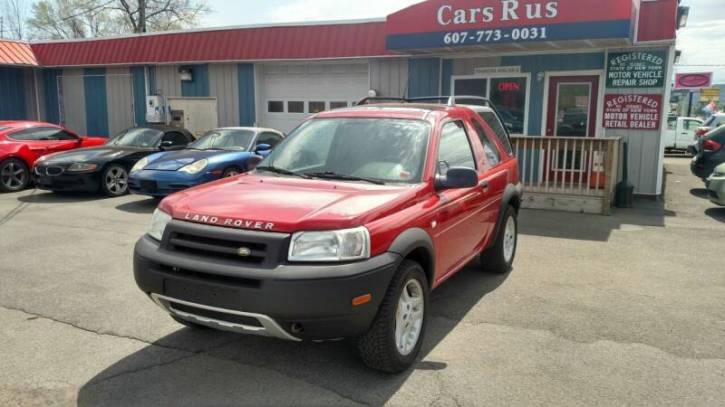 2003 Land Rover Freelander for sale at Cars R Us in Binghamton NY