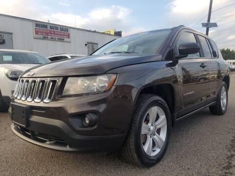 2014 Jeep Compass for sale at MENNE AUTO SALES LLC in Hasbrouck Heights NJ