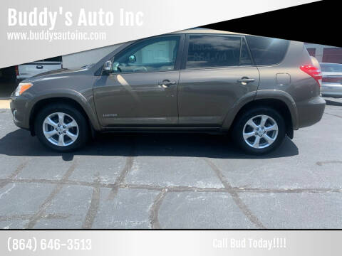 2010 Toyota RAV4 for sale at Buddy's Auto Inc in Pendleton, SC