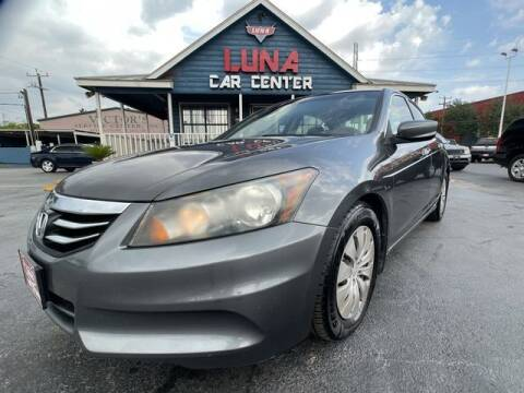 2012 Honda Accord for sale at LUNA CAR CENTER in San Antonio TX