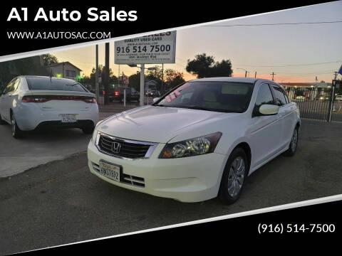 2010 Honda Accord for sale at A1 Auto Sales in Sacramento CA