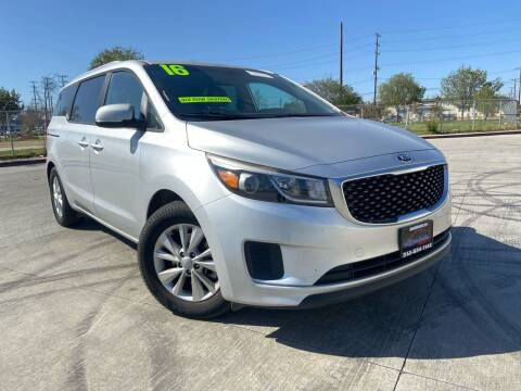 2016 Kia Sedona for sale at Affordable Auto Solutions in Wilmington CA