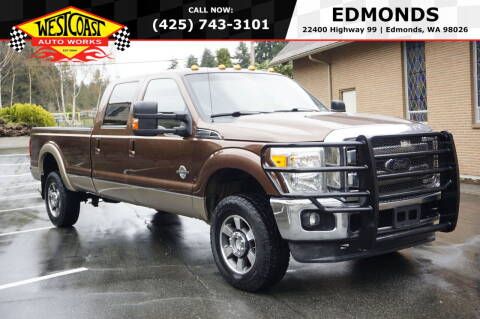 2012 Ford F-350 Super Duty for sale at West Coast Auto Works in Edmonds WA