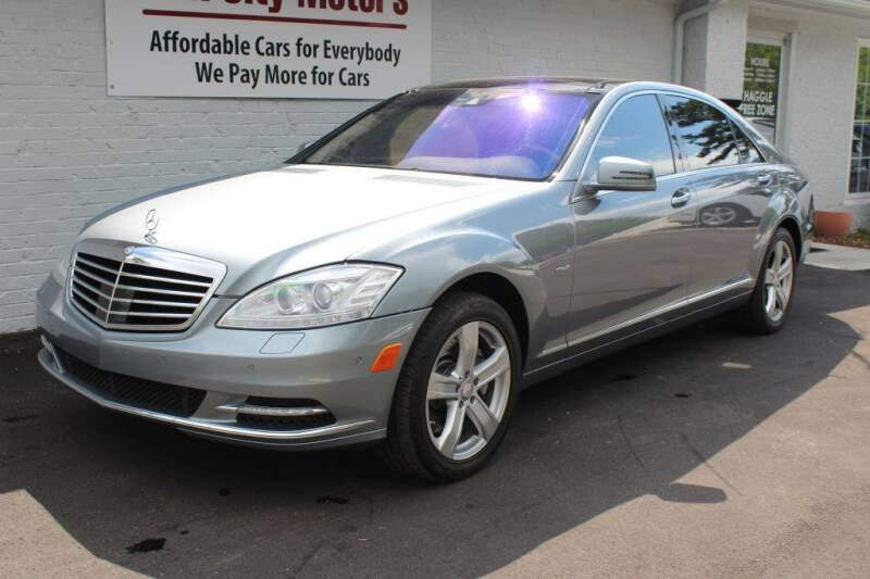 2012 Mercedes-Benz S-Class for sale at Oak City Motors in Garner NC