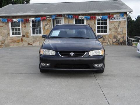 2001 Toyota Corolla for sale at Flywheel Auto Sales Inc in Woodstock GA