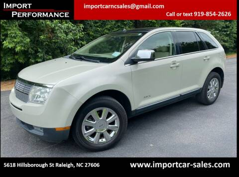 2007 Lincoln MKX for sale at Import Performance Sales in Raleigh NC