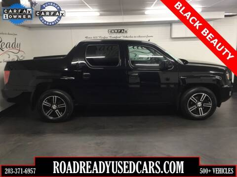 2014 Honda Ridgeline for sale at Road Ready Used Cars in Ansonia CT