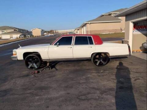 1989 Cadillac Brougham for sale at Classic Car Deals in Cadillac MI
