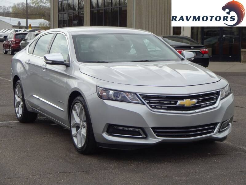 2019 Chevrolet Impala for sale at RAVMOTORS 2 in Crystal MN