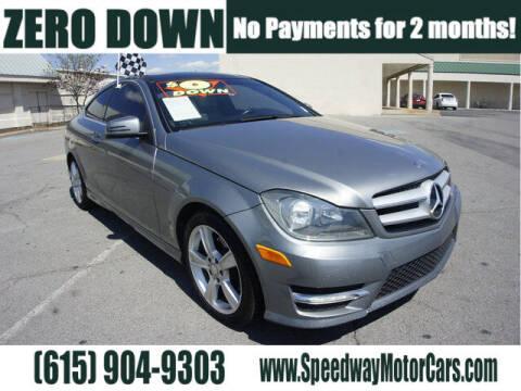 2013 Mercedes-Benz C-Class for sale at Speedway Motors in Murfreesboro TN
