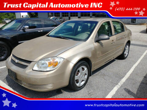 2006 Chevrolet Cobalt for sale at Trust Capital Automotive Inc. in Covington GA