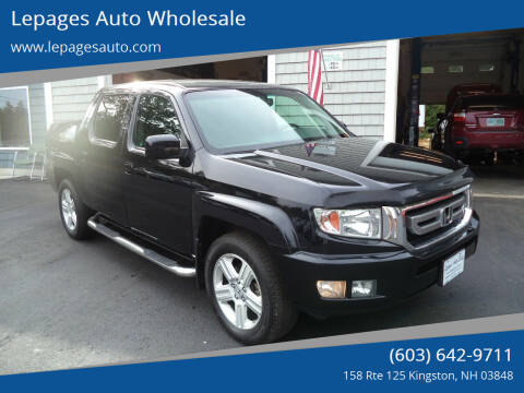 2011 Honda Ridgeline for sale at Lepages Auto Wholesale in Kingston NH